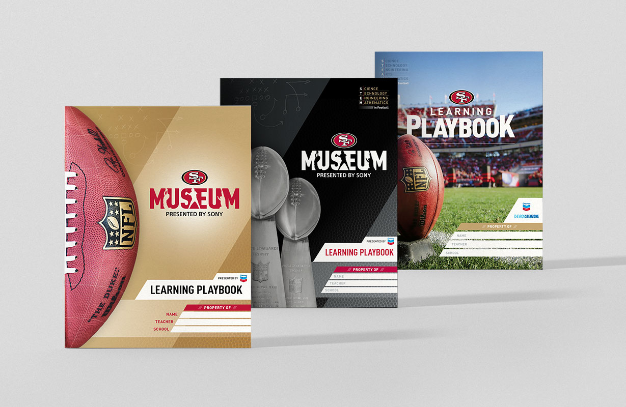 49ers Museum Learning Playbook Covers