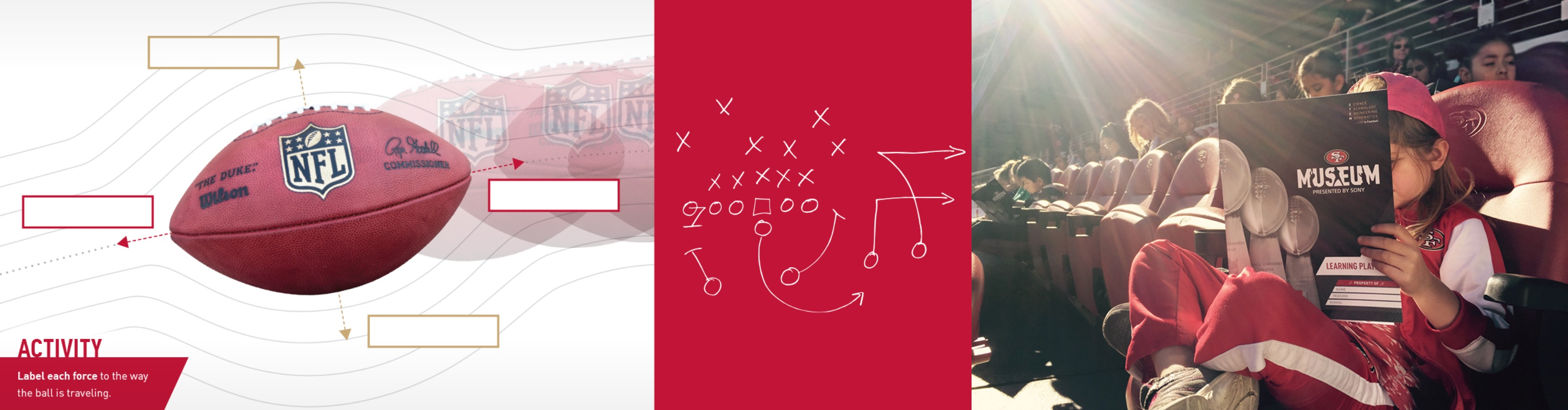 49ers Football Education Graphic Design