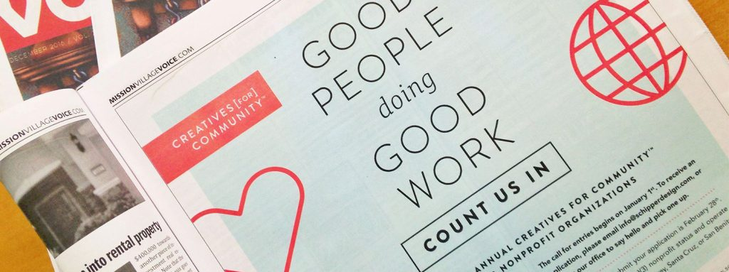 Creatives for Community Newspaper Ad