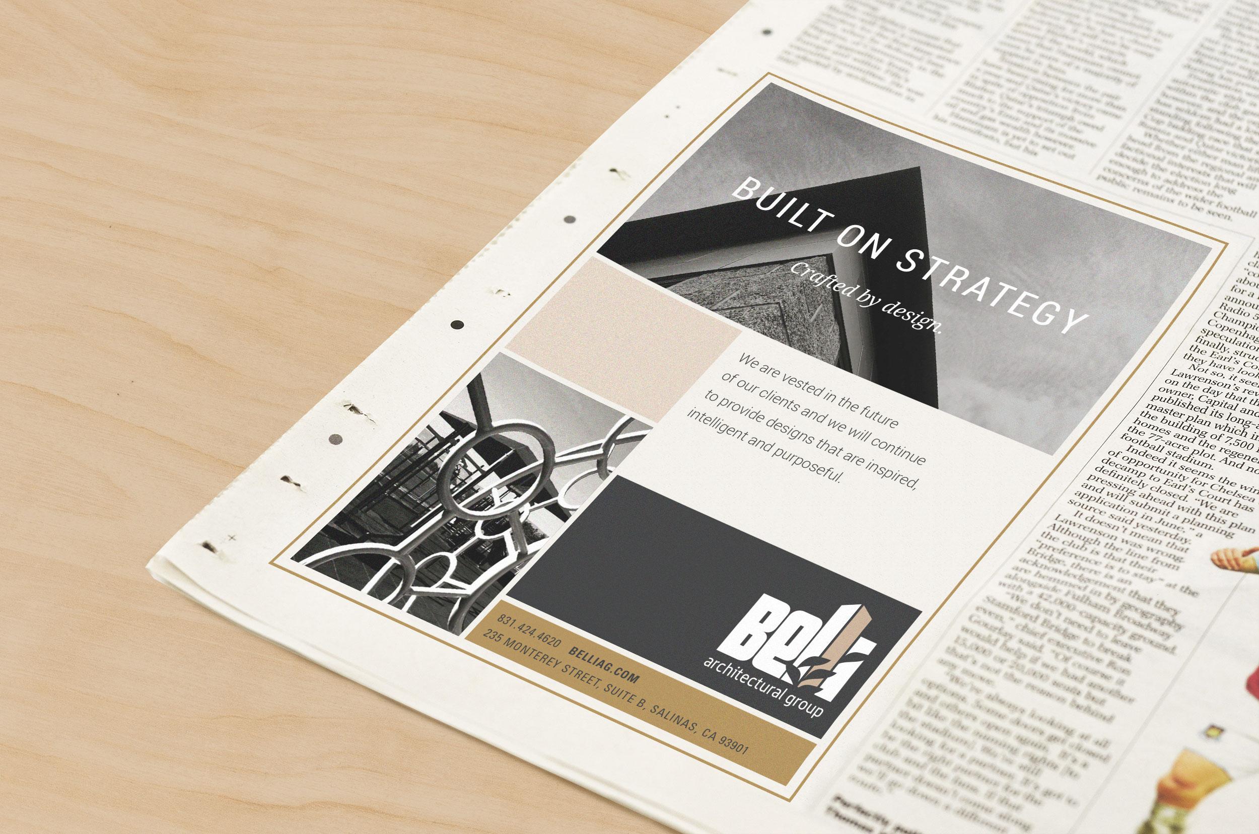 Belli Agricultural Group Newspaper Ad Design