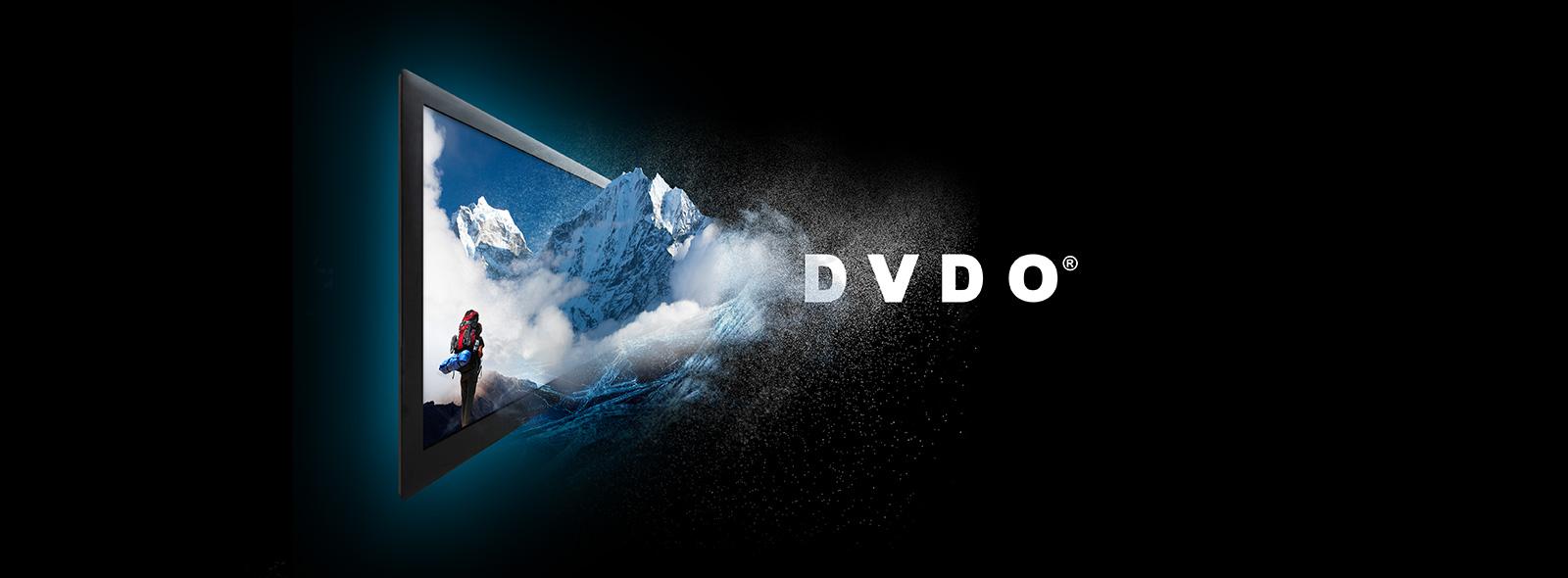 DVDO Website Header