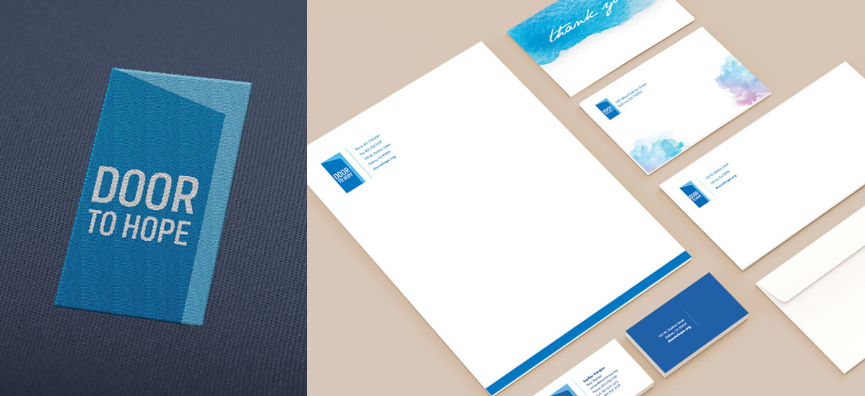 Door-to-Hope-Stationary-Letterhead-Business-Card-Design