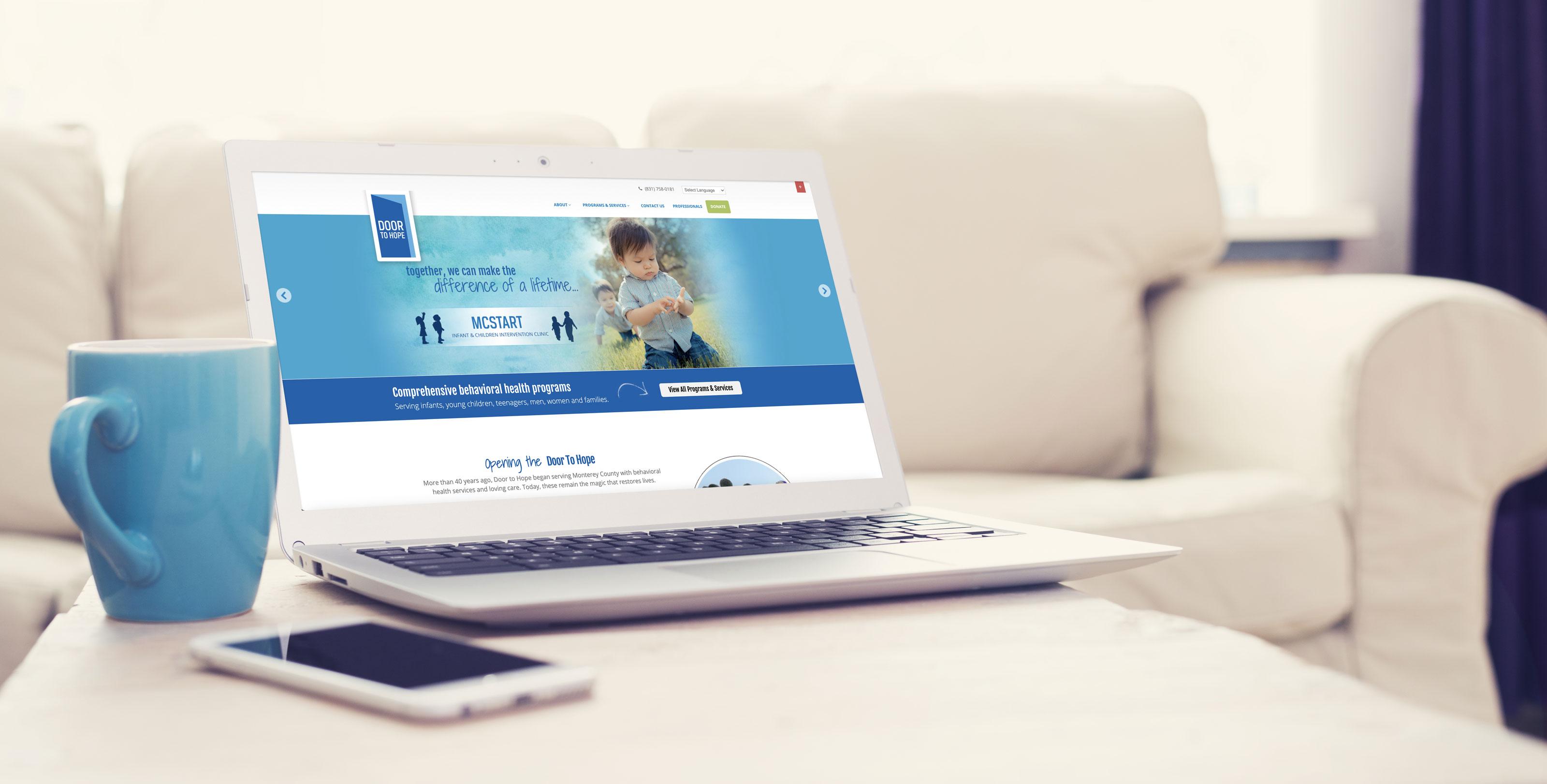 Door to Hope Website Design