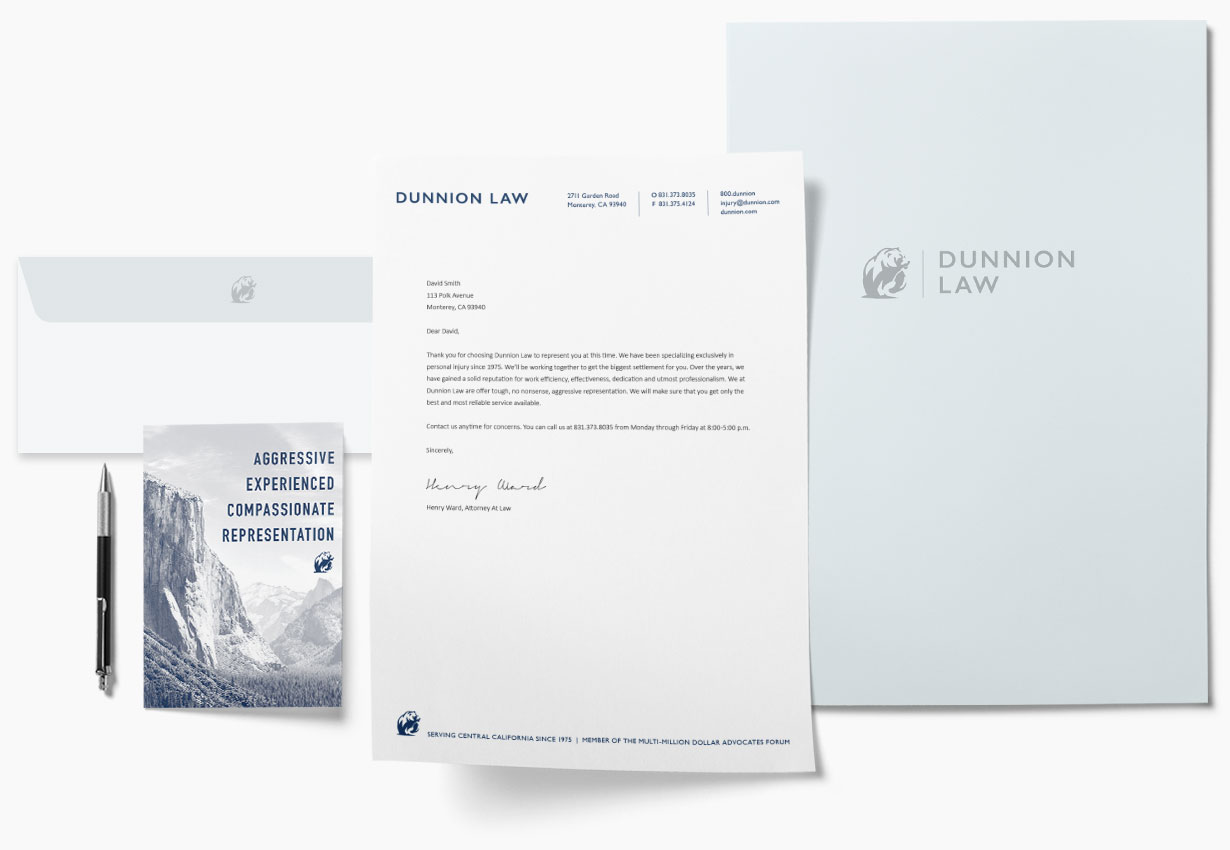 Dunnion Law Stationery