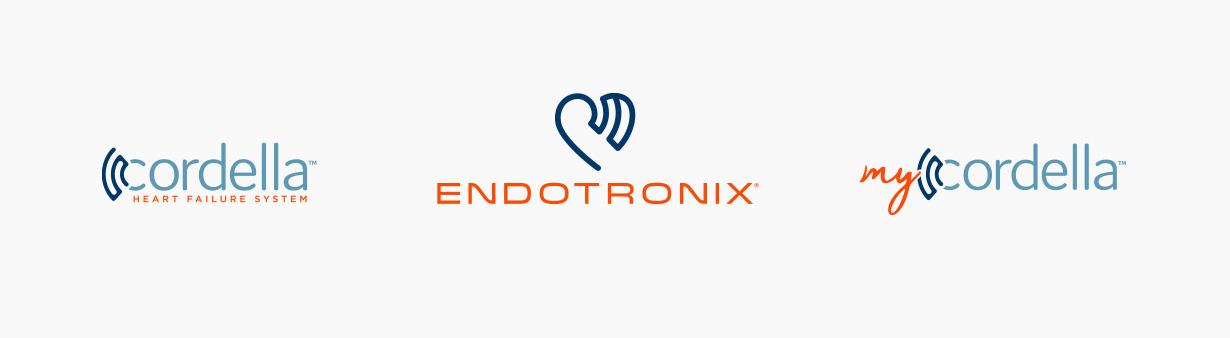Cordella, Endotronix, and MyCordella logos