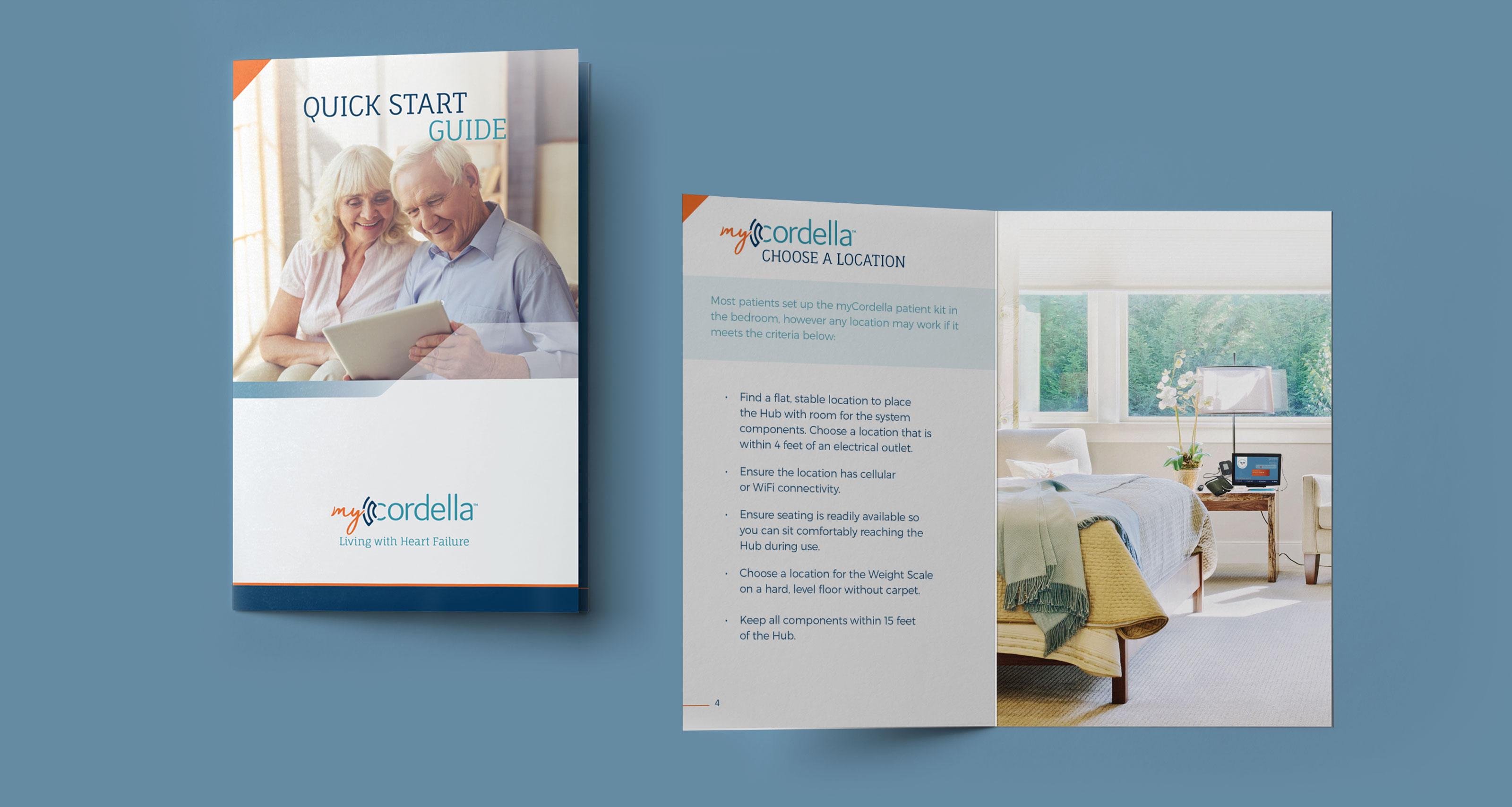 Endotronix MyCordella Patient Quick Start Guide