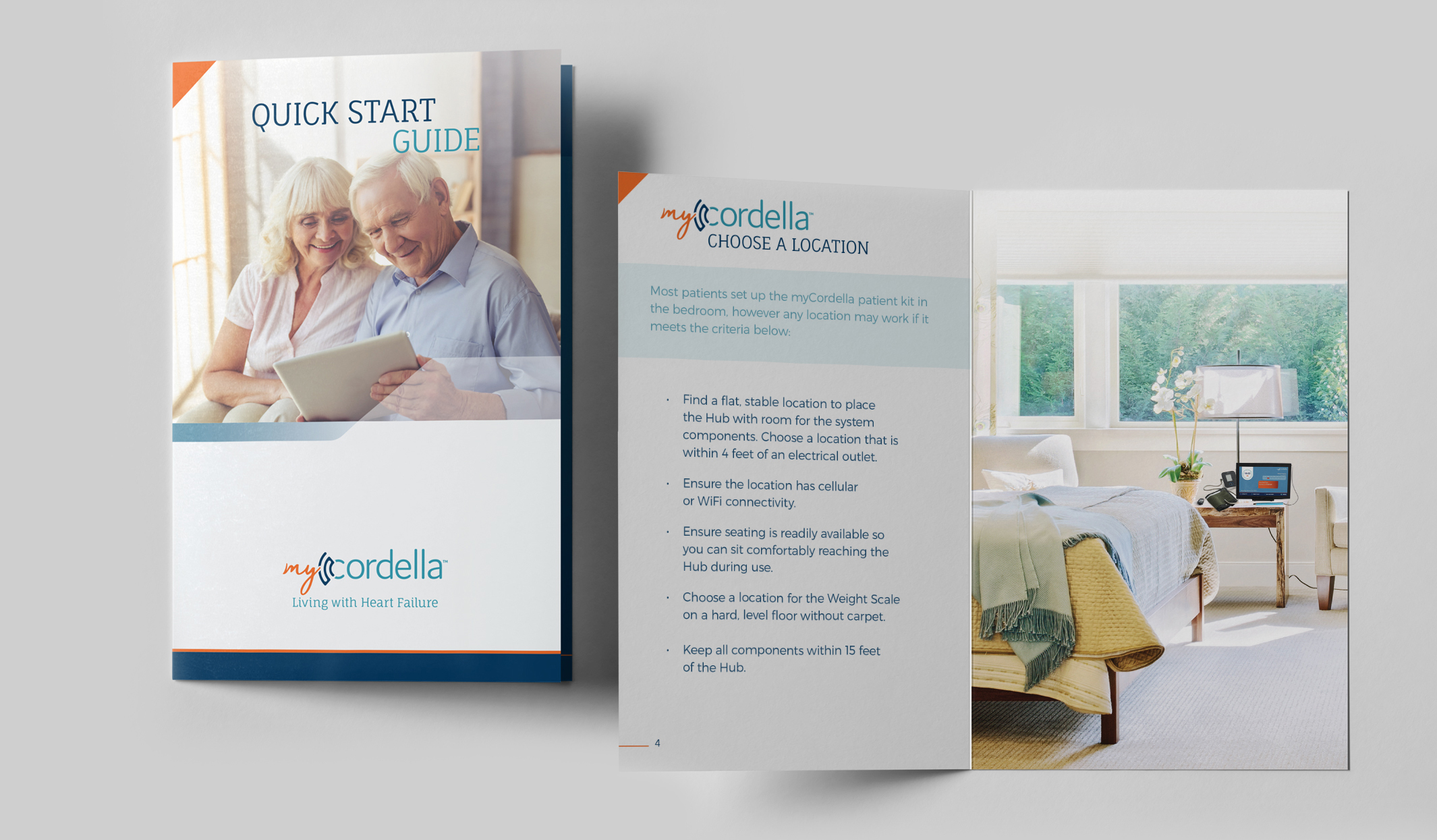 Endotronix Quick Start Guide Printed Brochure