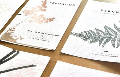 Fernwood Wine Label Development