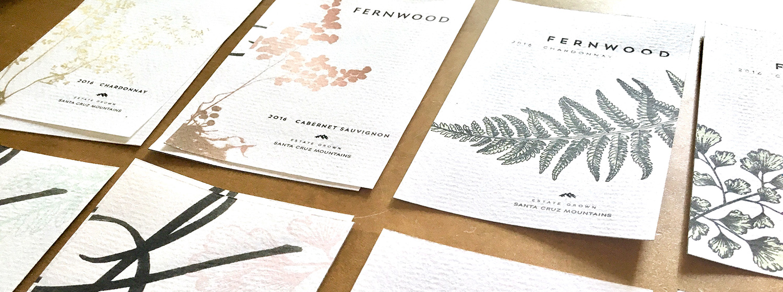 Fernwood Wine Label Development