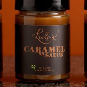 Lula's Chocolates Caramel Sauce Jars