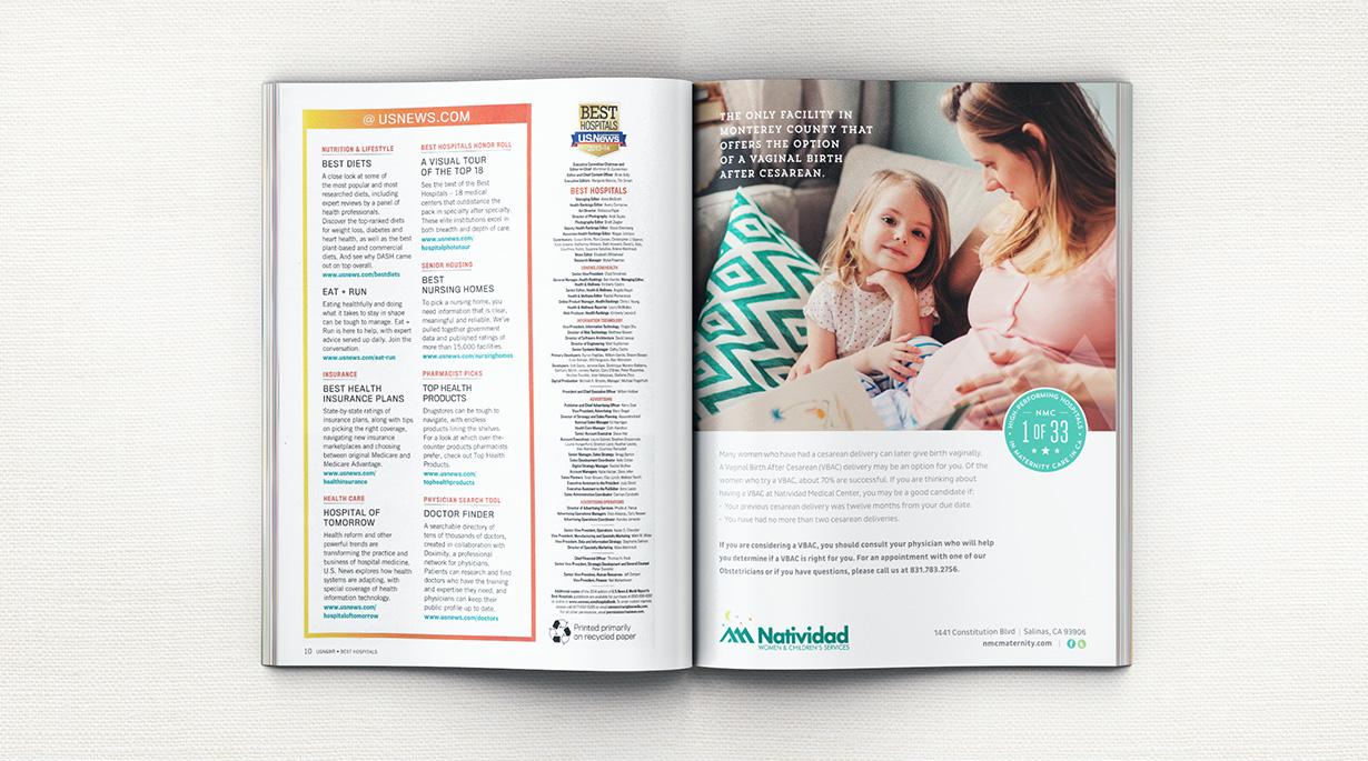 Natividad Maternity Ad