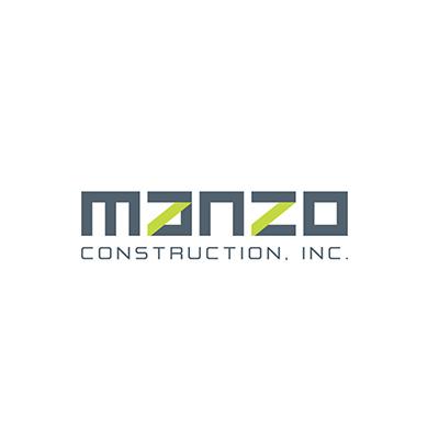 Manzo Construction Logo
