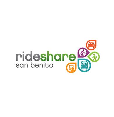 Rideshare San Benito Logo