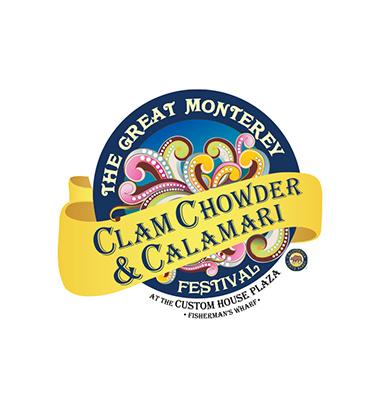 Monterey Clam Chowder and Calamari Festival Logo