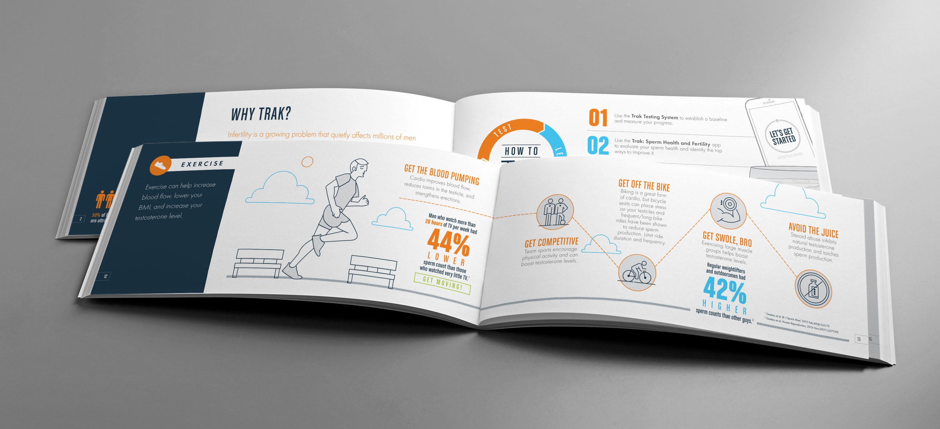 Trak Medical Booklet Design