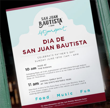 San Juan Bautista Flyer