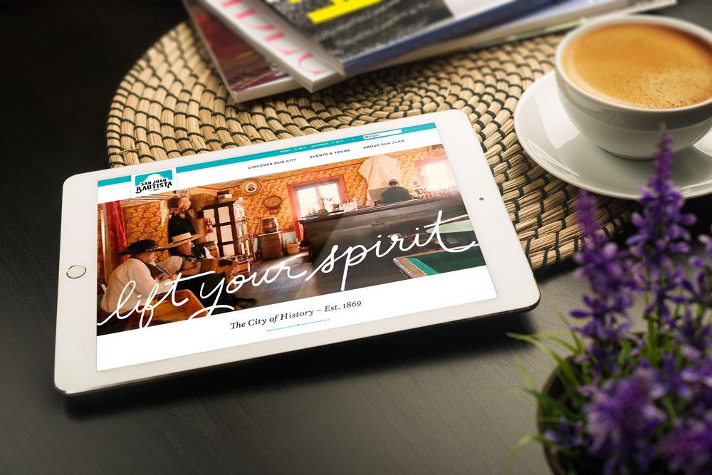 San Juan Bautista website design