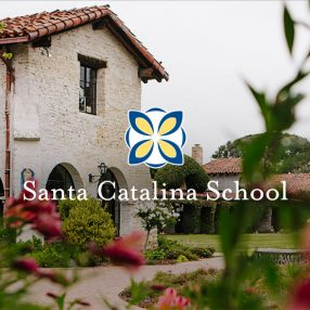 Santa Catalina School Website Header