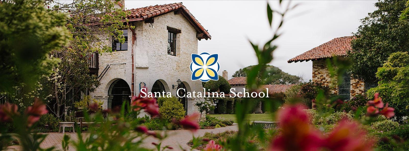 Santa Catalina School Website Header