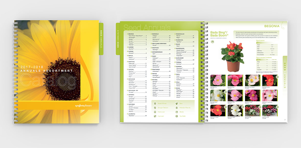 Syngenta Annuals Catalog