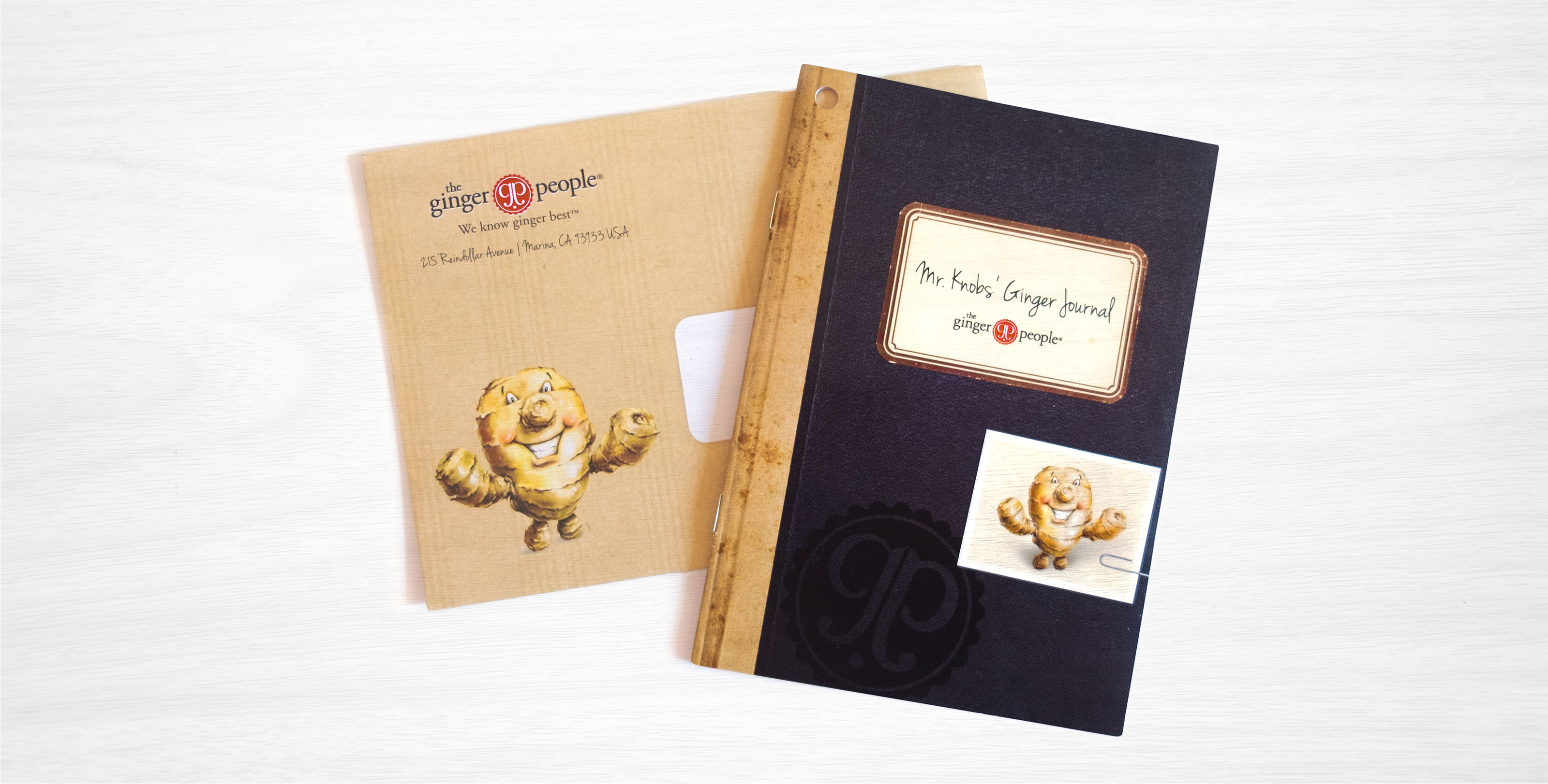 The Ginger People Journal Design