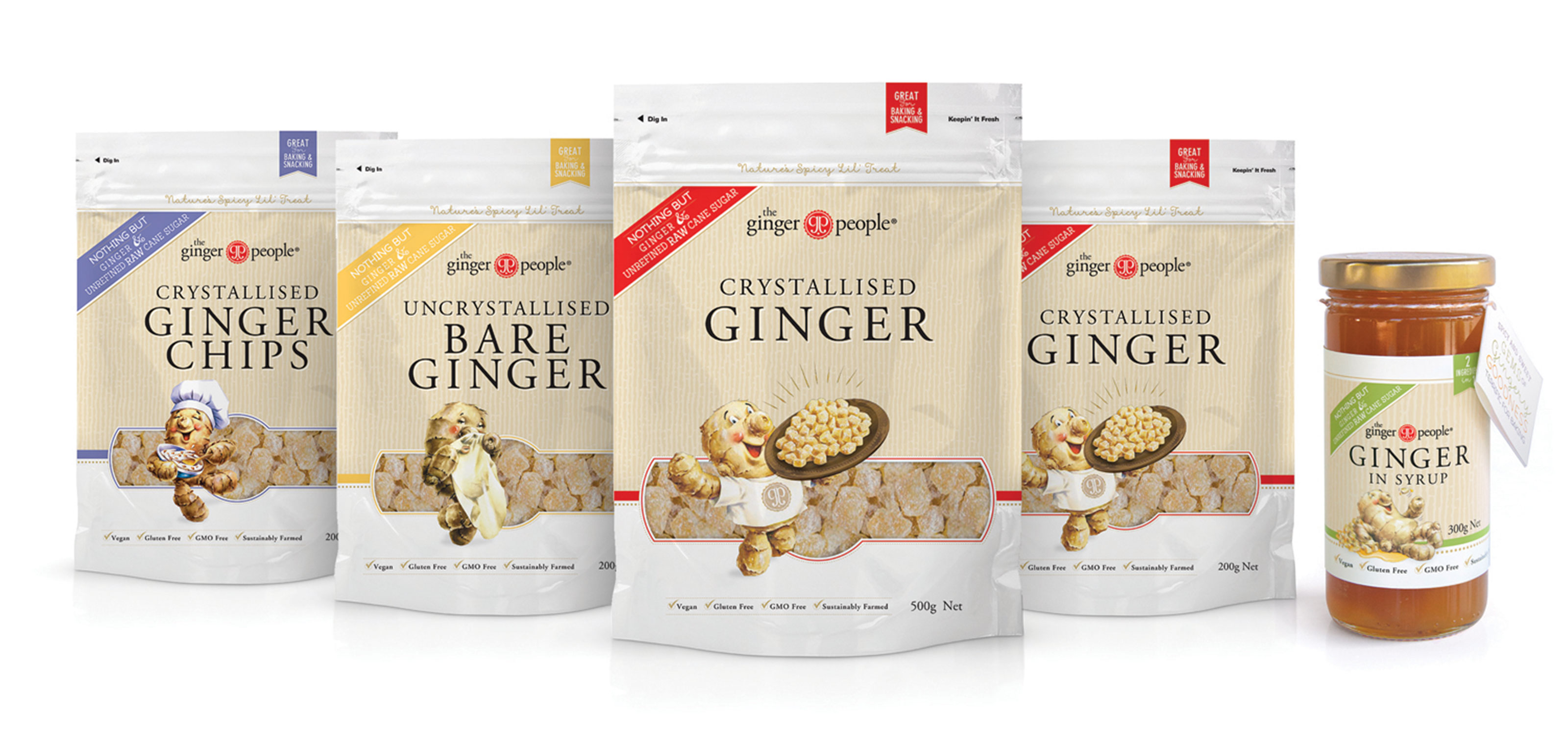 The Ginger People Ginger Packaging