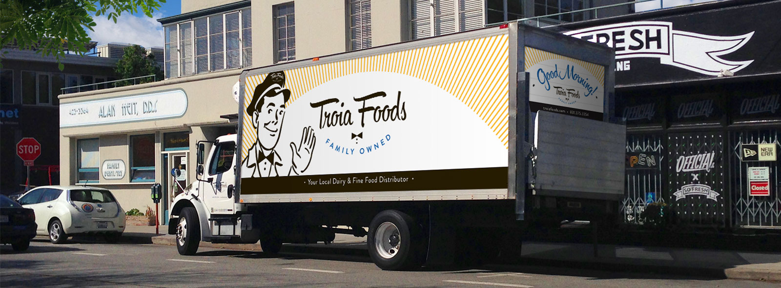 Troia Foods Delivery Truck
