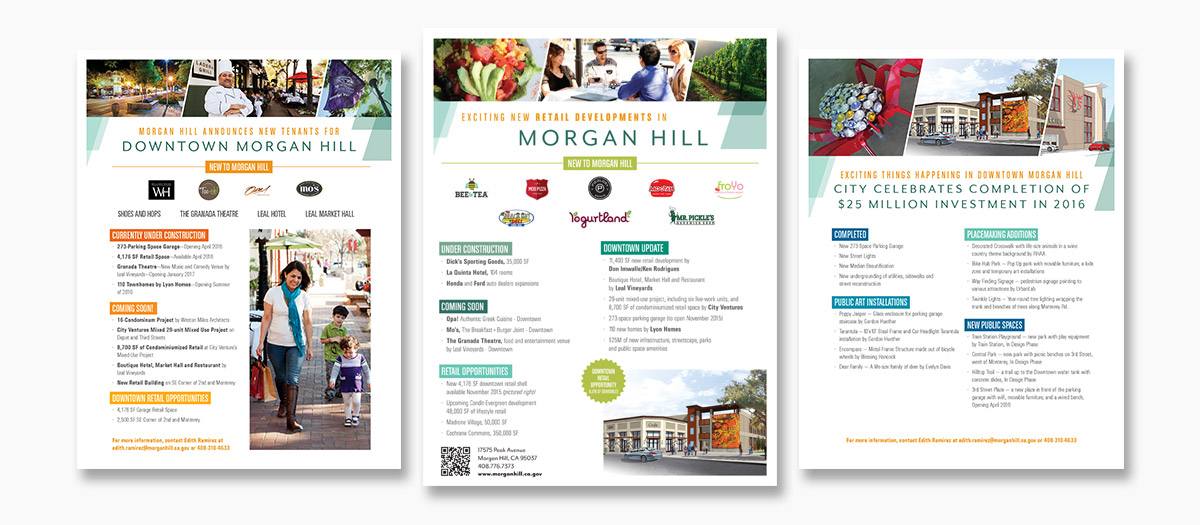 City of Morgan Hill Flyers