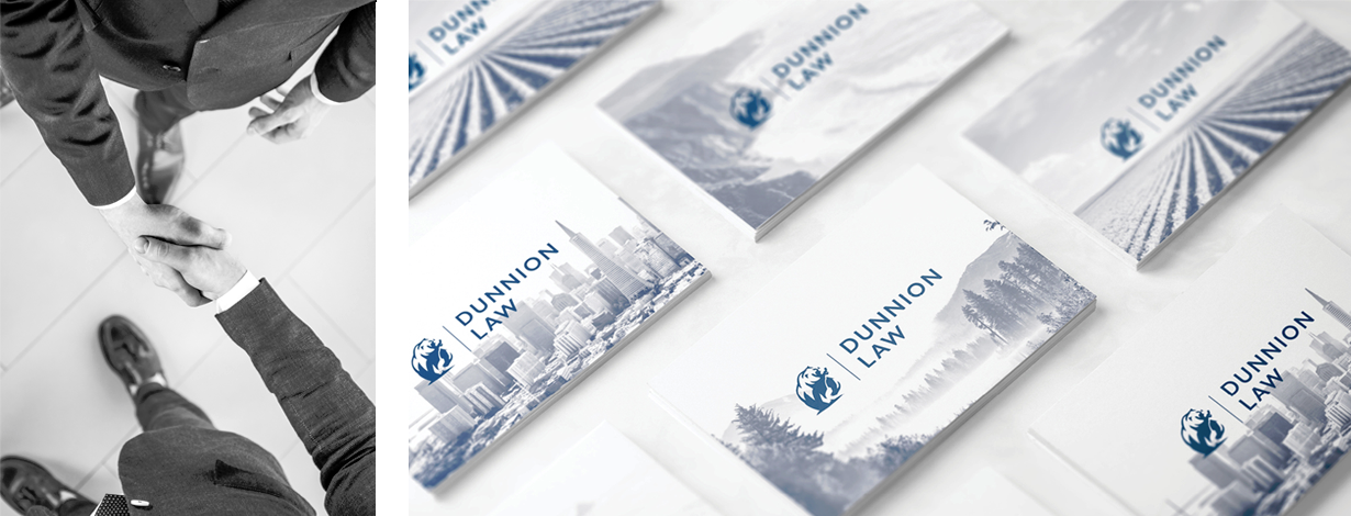 Dunnion Law Business Cards