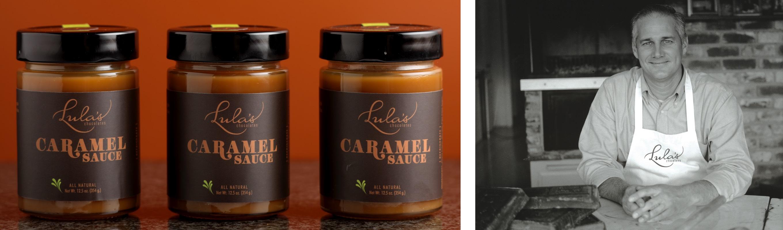 Lula's Caramel Sauce and Scott Lund