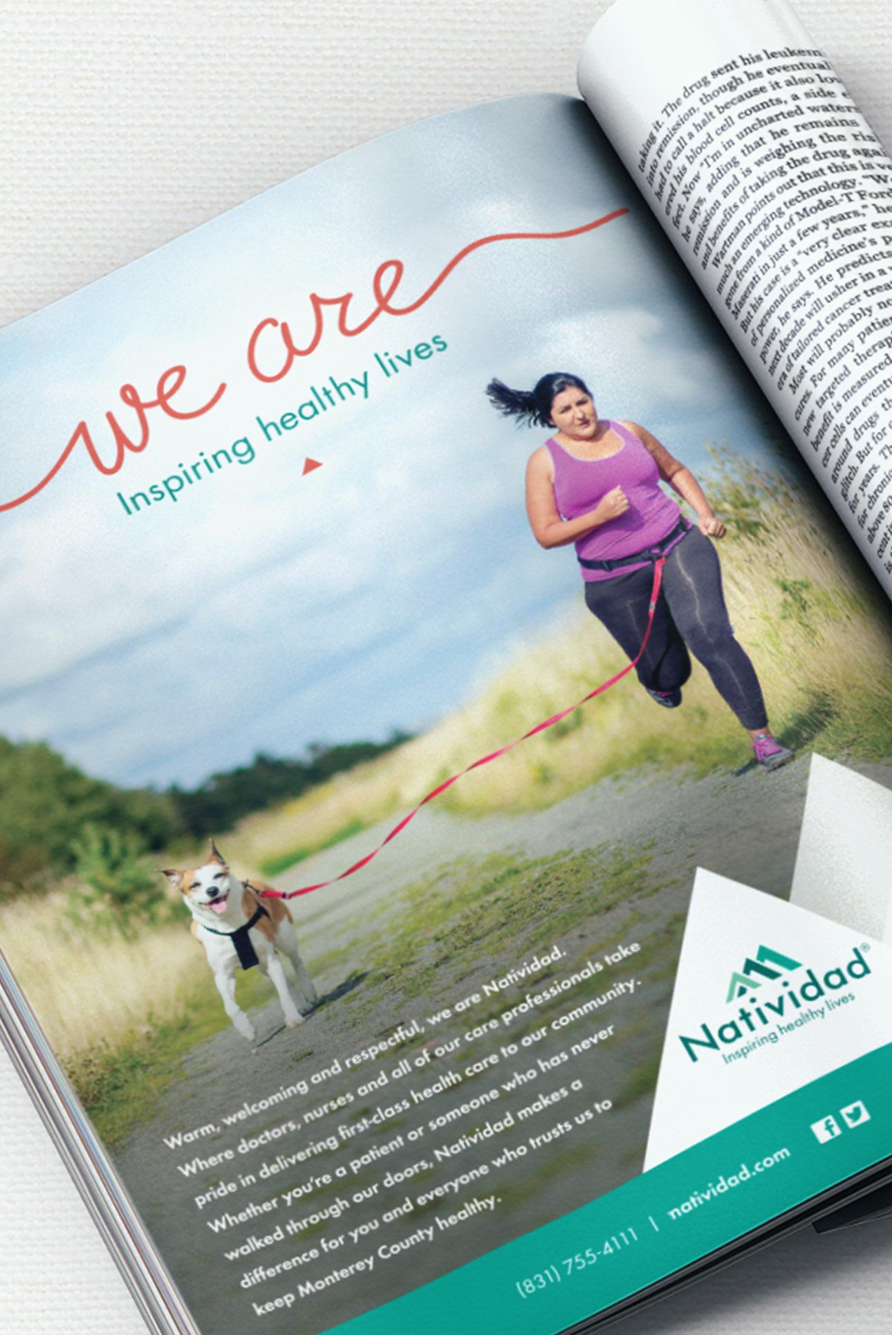 Natividad Ad Campaign Magazine