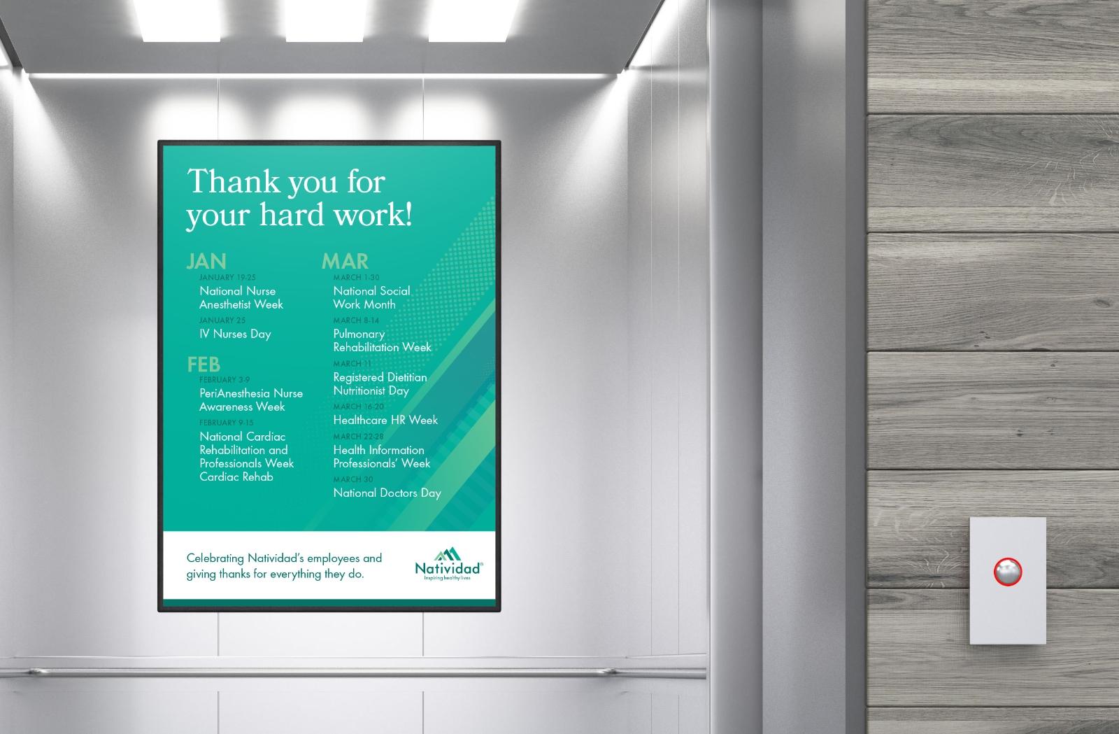 Natividad Elevator Poster