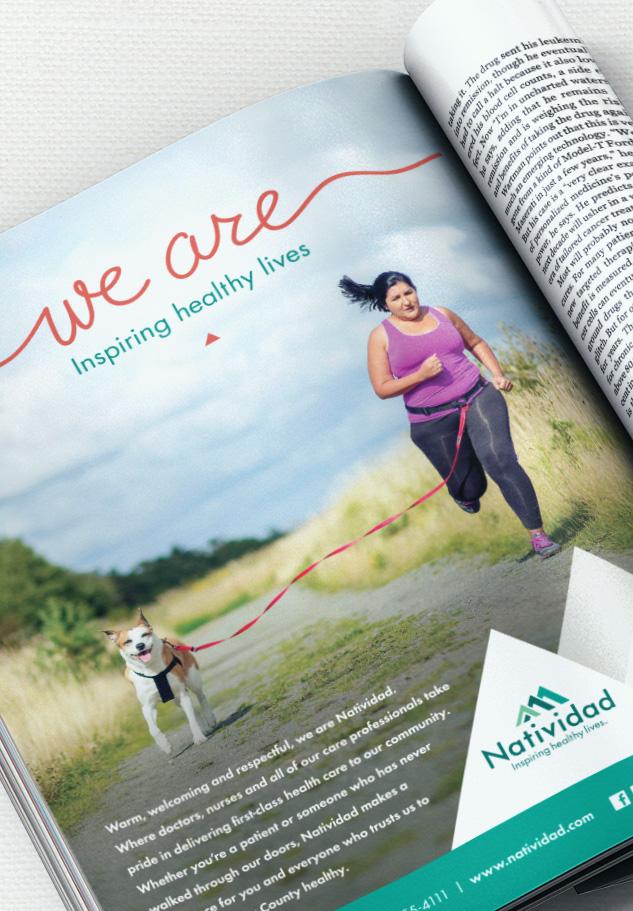 Natividad We Are Magazine ad