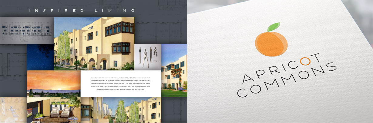 robson-homes-apricot-commons-logo-design