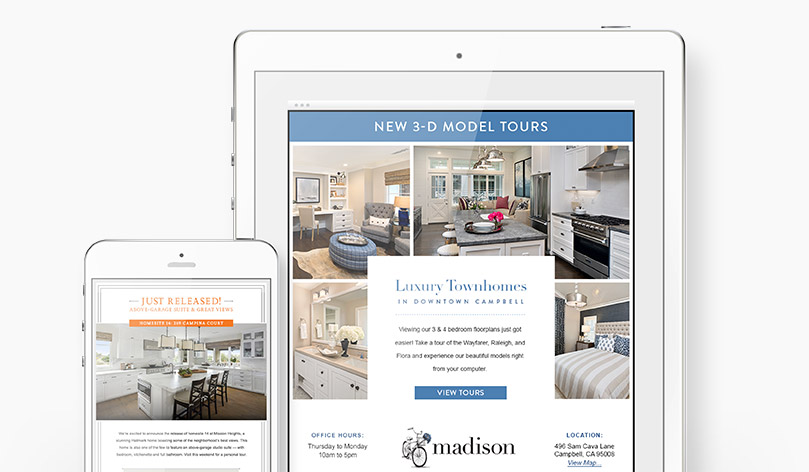 robson-homes-email-campaign-design