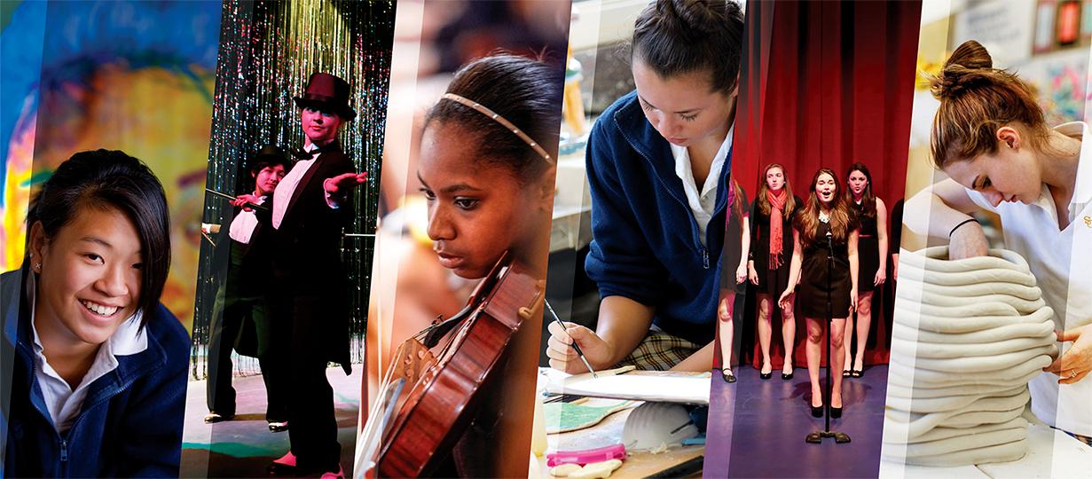 Santa Catalina School Photo Collage