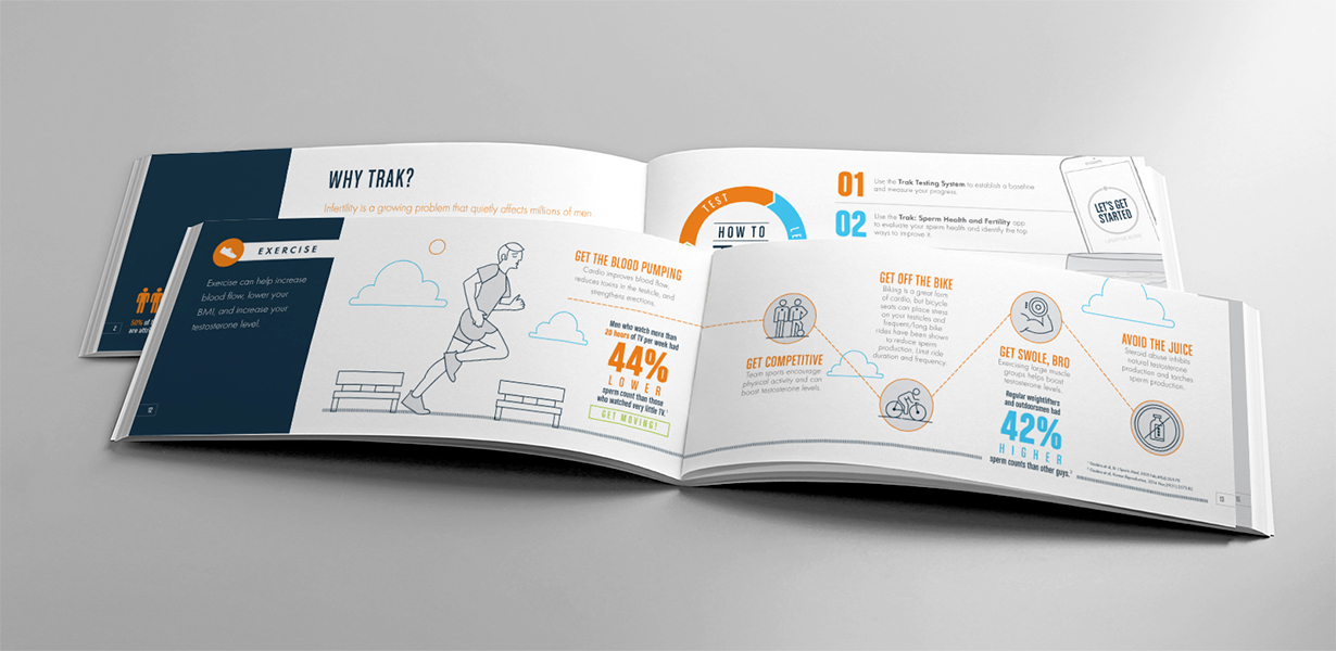 Trak Health Book Interior Spreads