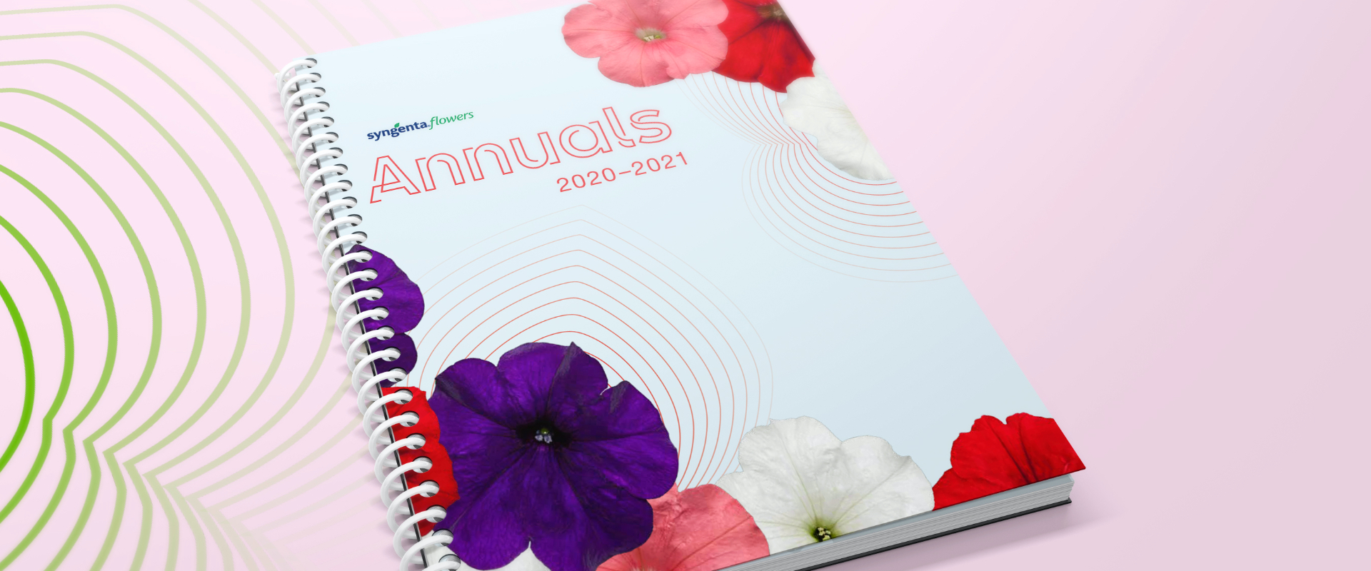 Front cover of Syngenta Flowers 2020-2021 annual catalog