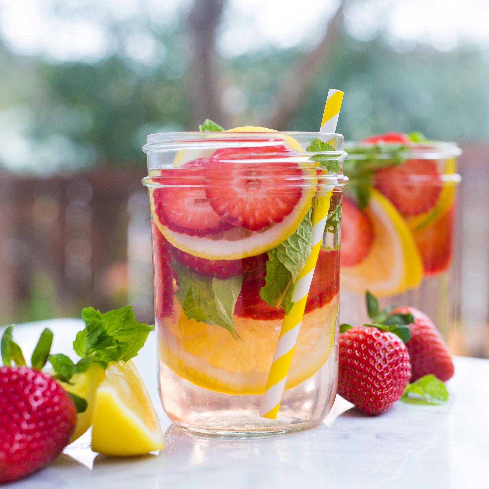 Red Blossom Summer Drinks