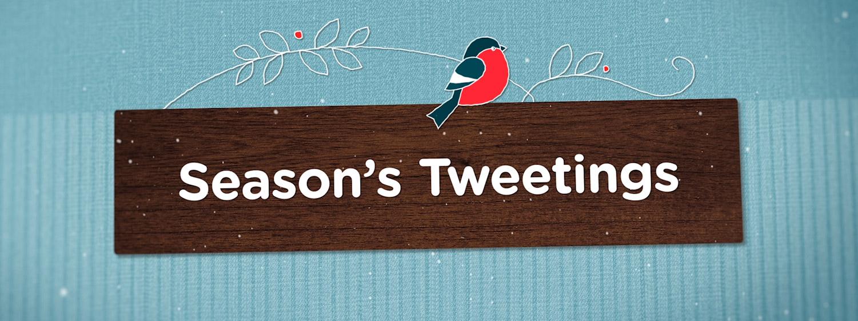 Season's Tweetings Header