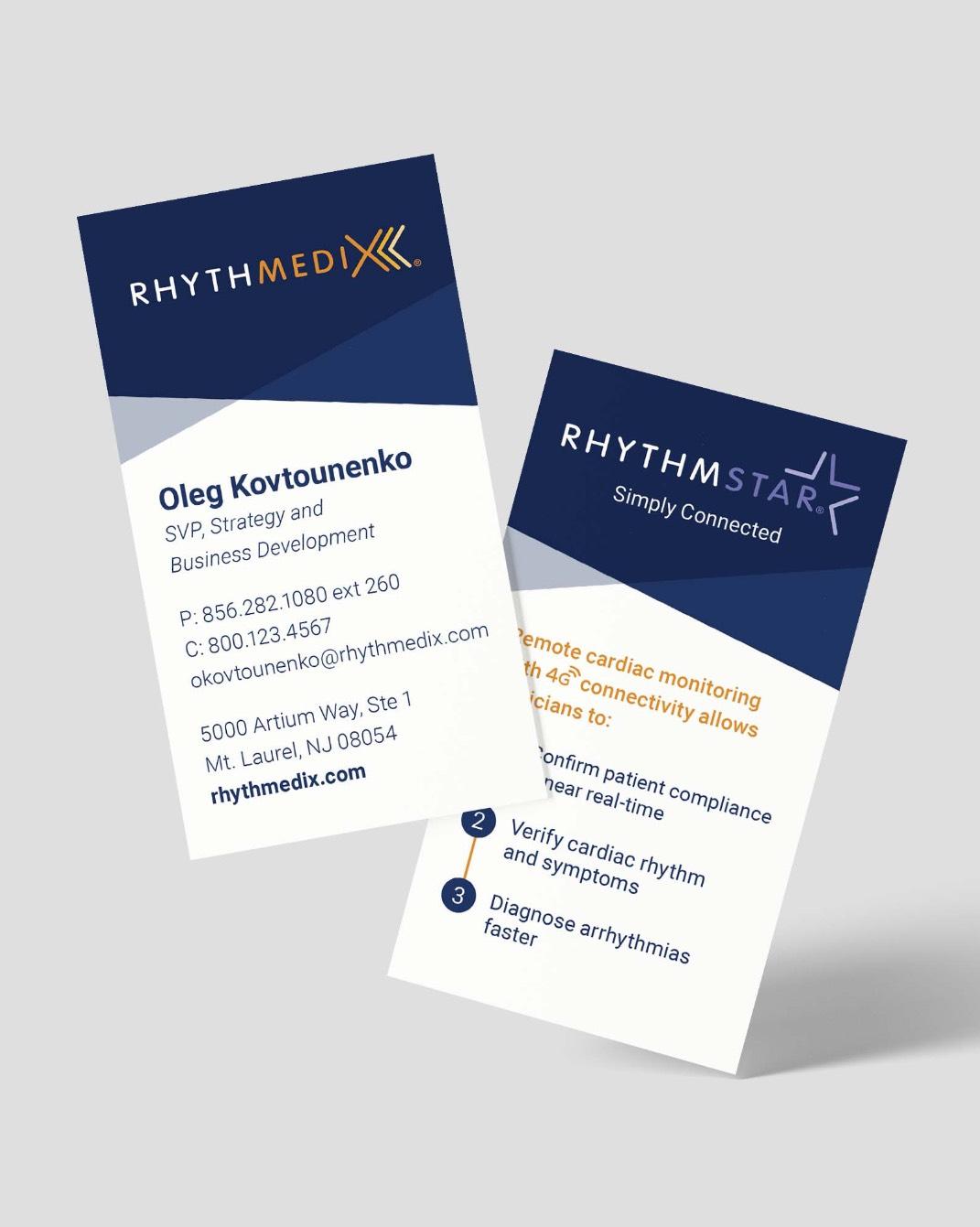 rhythmedix business cards