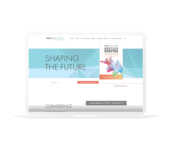 Medtech Women website design
