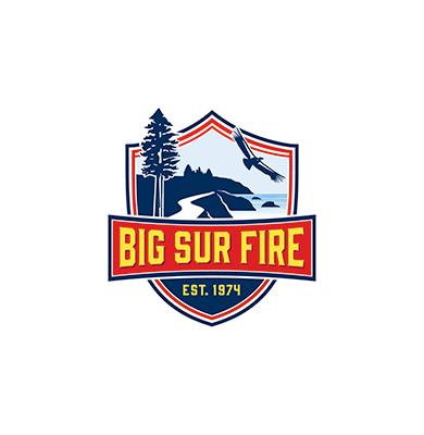 Big Sur Fire Logo