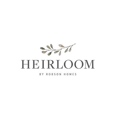 Heirloom by Robson Homes Logo