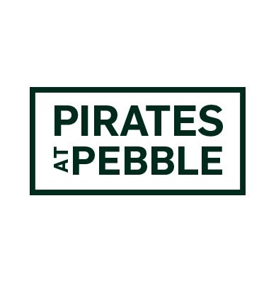 Pirates at Pebble Logo