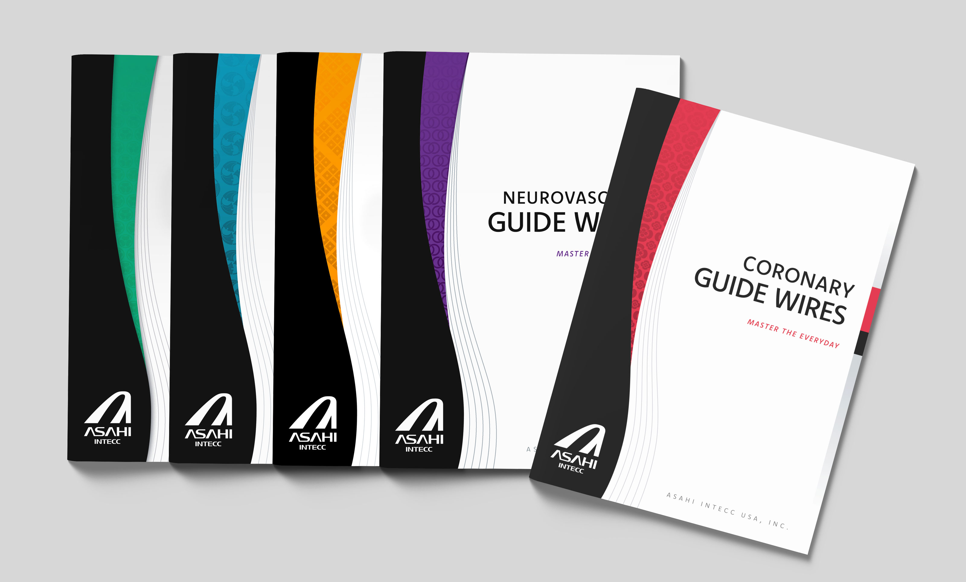 ASAHI Collateral Product Brochure Designs