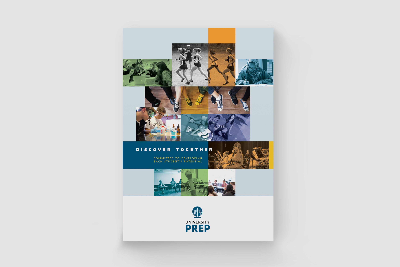 University Prep Folder Cover