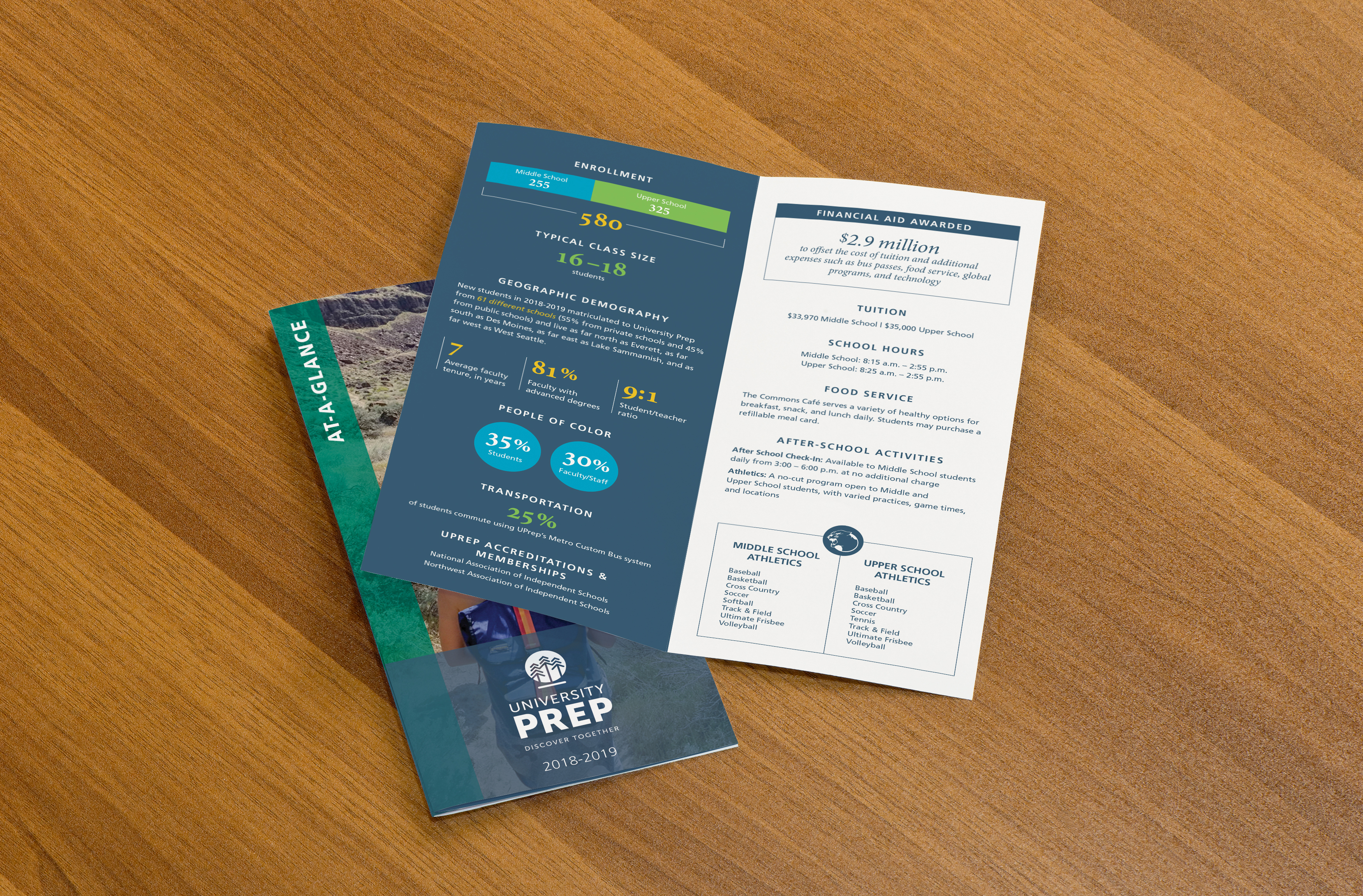 University Prep At-A-Glance Brochure