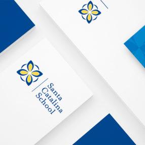 Santa Catalina logo on stationary