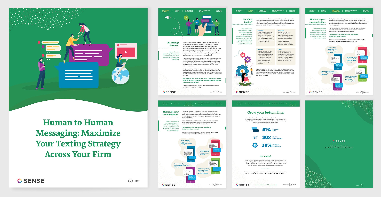 Sense E-book Digital Publication Design